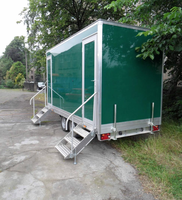 2 + 1 Luxury toilet trailer
