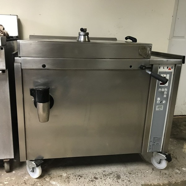 Used boiling pan for sale