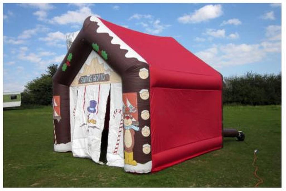 Secondhand prop shop christmas inflatable santa s