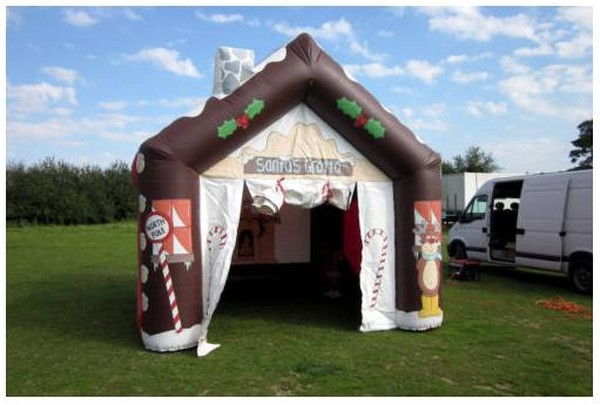 Inflatable Santa's Grotto for sale