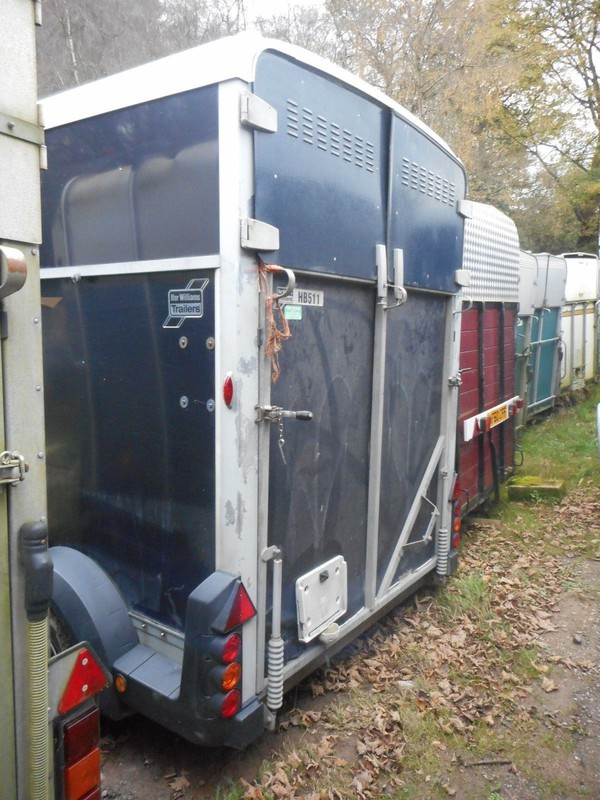 Buy Used Ifor Williams Hb511 Blue Horse Trailer