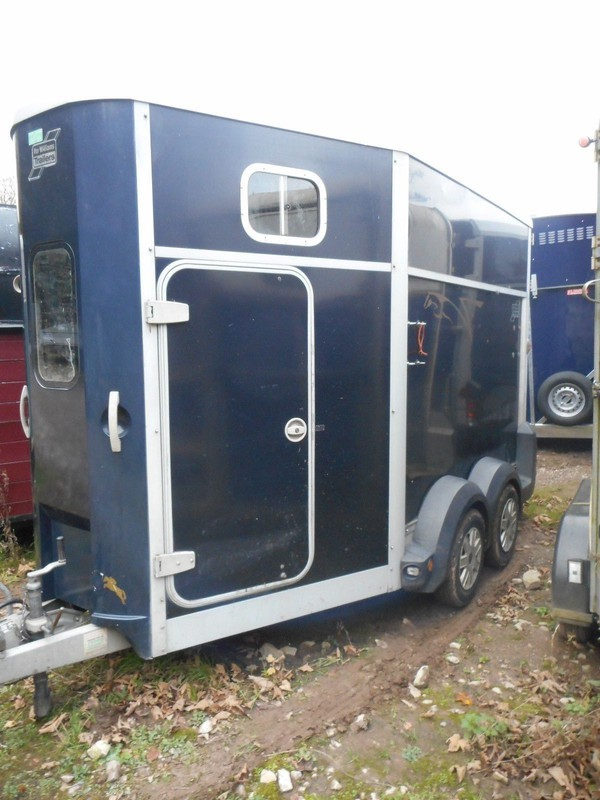 Used Ifor Williams Hb511 Blue Horse Trailer