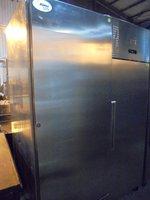 Stainless Steel Sadia Upright Freezer (6055)