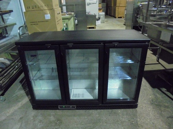 3 door bottle fridge for sale