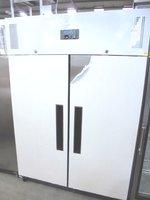 Upright double door freezer