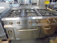 Used commercial gas oven
