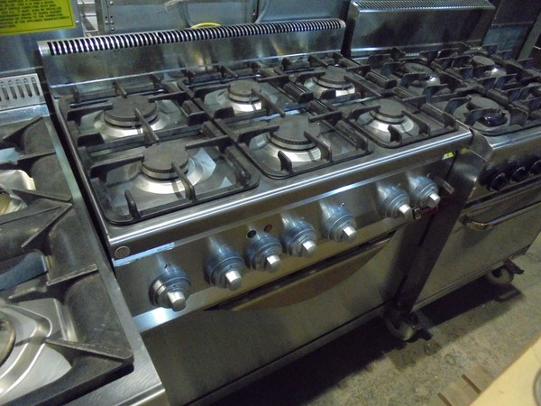 6 grid gas oven for sale