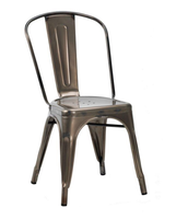 Metal bistro chairs for sale