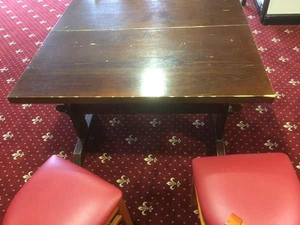 Used tables