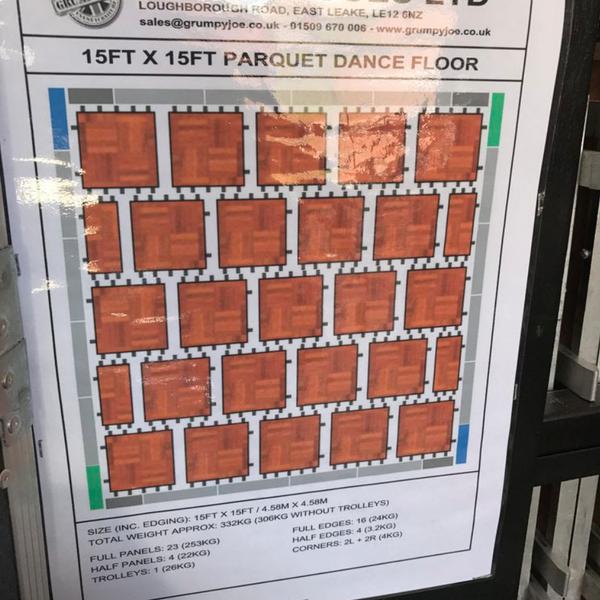 Grumpy Joe dance floor for sale