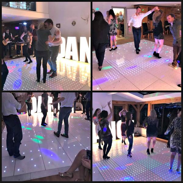 Dance floor Lancashire