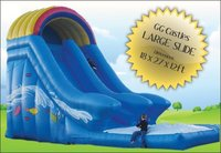 Commercial ex hire Inflatable Mega Slide