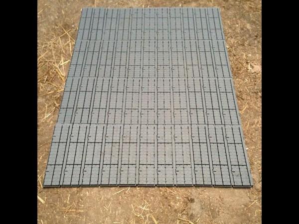 Plastic marquee flooring