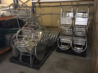 Job Lot of Aluminium Bistro Style Furniture