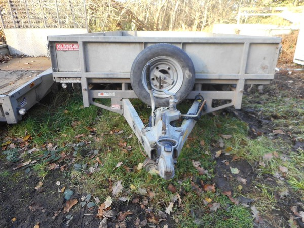 Used drop side trailer
