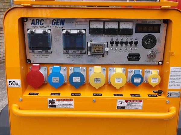 15kva generator Hartlepool