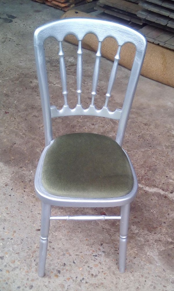 Silver Cheltenham Banqueting Chair
