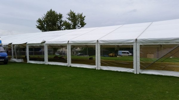 Clearspan marquee for sale