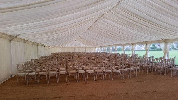 Used marquee Gloucestershire