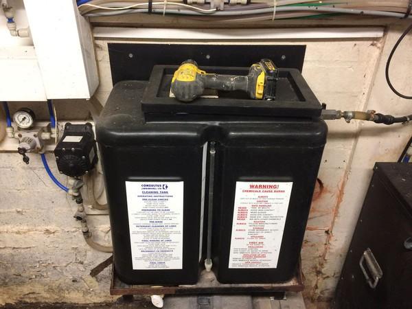 Commercial cooler unit