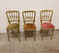 Gold bentwood chairs for sale