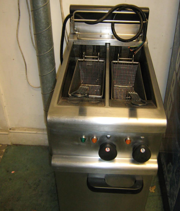 Twin fryer for sale