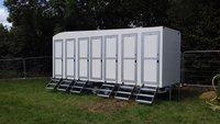 6 bay shower unit