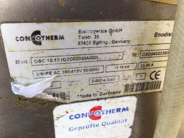 Used convotherm oven