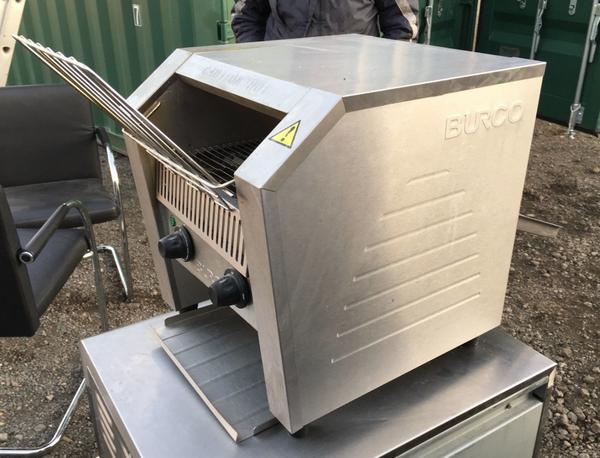 Used burco toaster