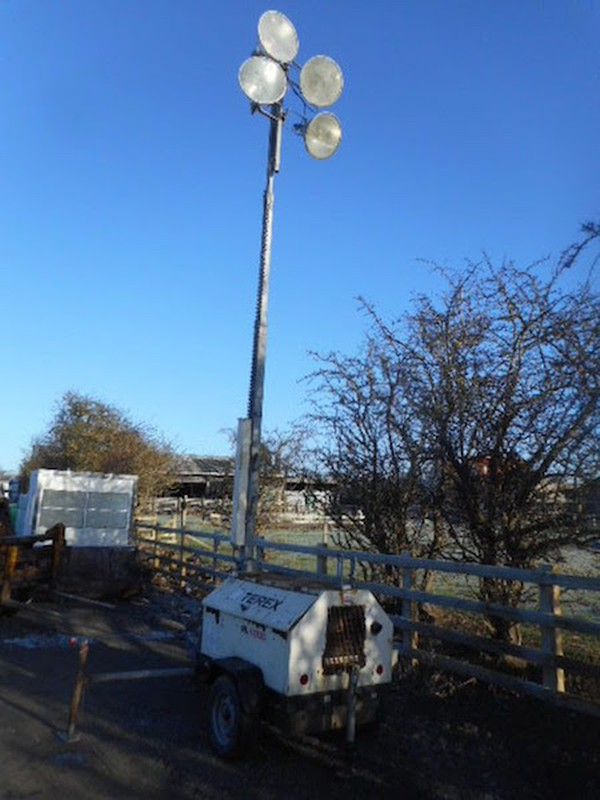 Terex RL4000 Towable Lighting Tower for sale