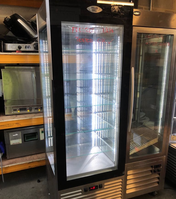 Rotating display fridge for sale