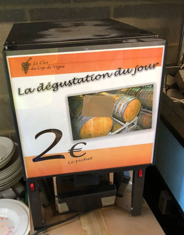 Used wine dispenser for sale