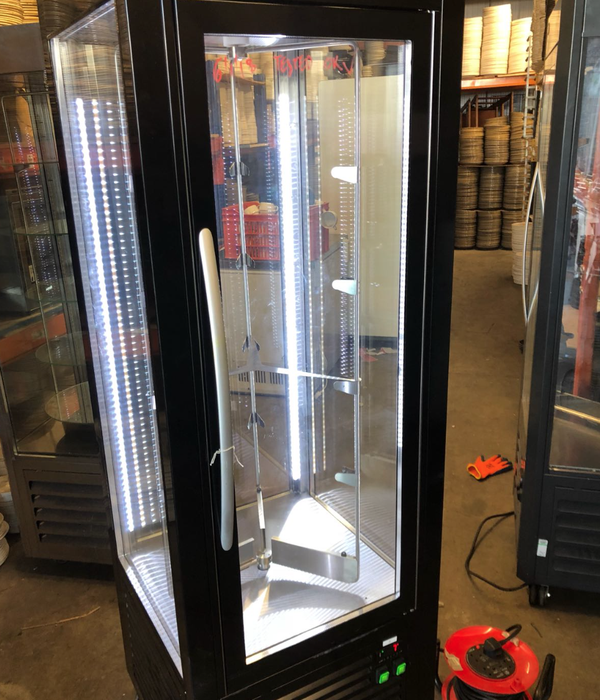 refrigerated Glass display
