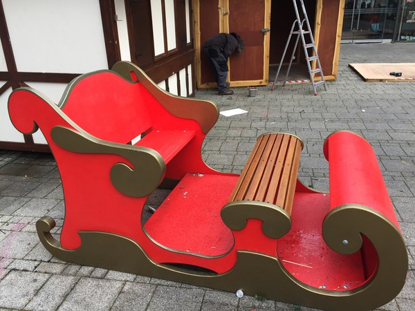Christmas sleigh for sale
