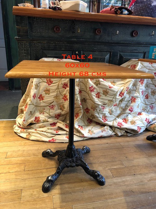 Used pub tables London
