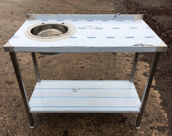Prep bench with sink for sale