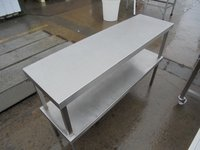 Used Stainless Steel Double Gantry Shelf(6099)