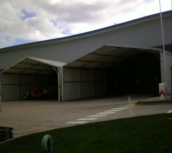 Loading bay marquee