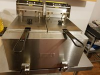 Used buffalo commercial fryer for sale