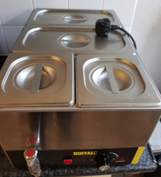 Used 4 pot bain marie for sale London