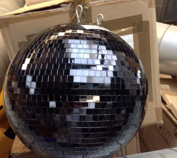 Secondhand mirror balls