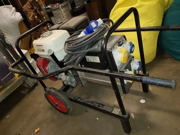 Used petrol generator for sale