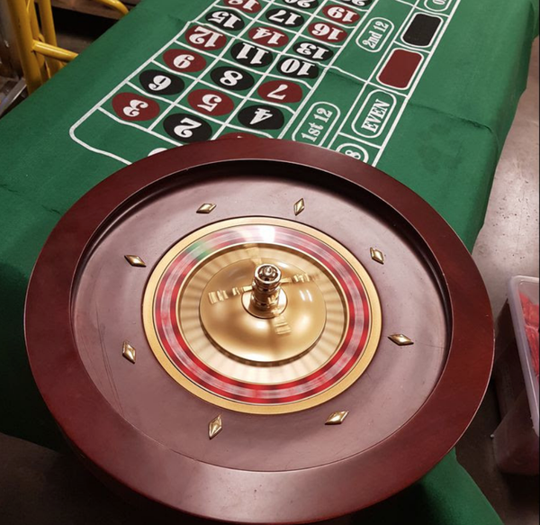 Secondhand roulette table for sale