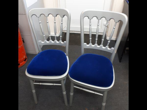 Silver Cheltenham chairs