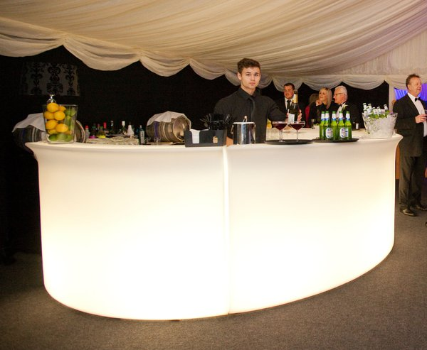 Slide Design Half Round Illuminated Bar