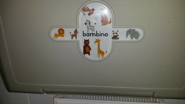 Wall baby changing table