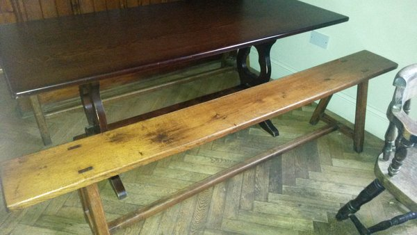 Antique wooden benches for sale