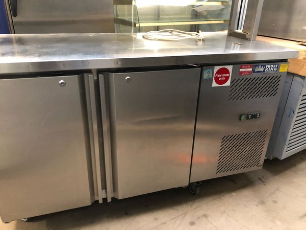 Two door fridge for sale
