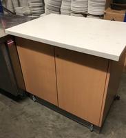 Marble top cupboard