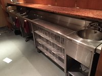 Back bar for sale